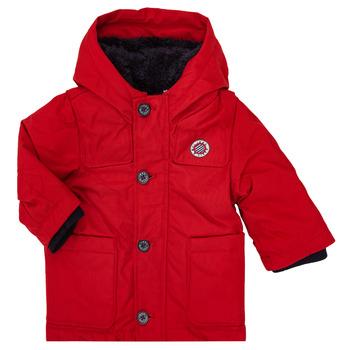 Ruhák Fiú Parka kabátok Ikks XR42001 Piros