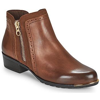 Cipők Női Csizmák Caprice  Konyak