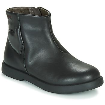 Cipők Lány Csizmák Camper DTT1 Fekete