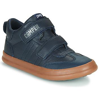 Cipők Gyerek Rövid szárú edzőcipők Camper POURSUIT Tengerész