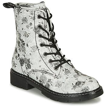 Cipők Női Csizmák Dockers by Gerli 45PN201 Fehér