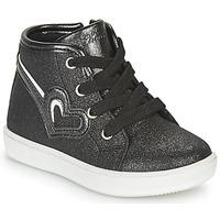 Cipők Lány Magas szárú edzőcipők Chicco FLAMINIA Fekete
