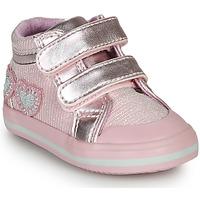 Cipők Lány Magas szárú edzőcipők Chicco GEORGIAN Rózsaszín