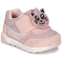 Cipők Lány Rövid szárú edzőcipők Chicco GAMMA Rózsaszín