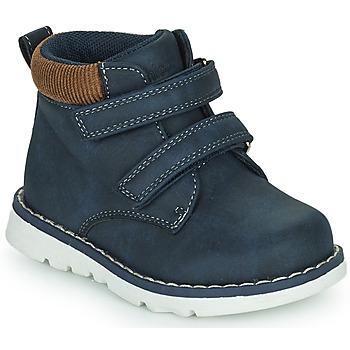 Cipők Fiú Magas szárú edzőcipők Chicco FLOK Kék