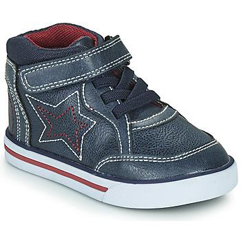 Cipők Fiú Magas szárú edzőcipők Chicco FLORINDO Kék