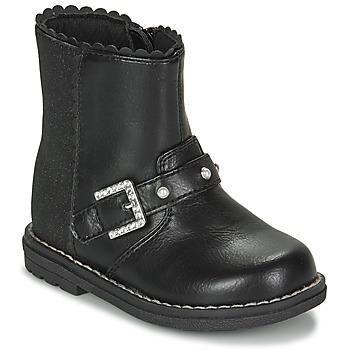 Cipők Lány Városi csizmák Chicco CANCAN Fekete