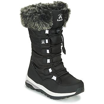 Cipők Lány Hótaposók KAMIK PRAIRIE Fekete