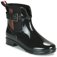 Cipők Női Gumicsizmák Tom Tailor  Fekete