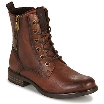 Cipők Női Csizmák Tom Tailor 93303-COGNAC Konyak