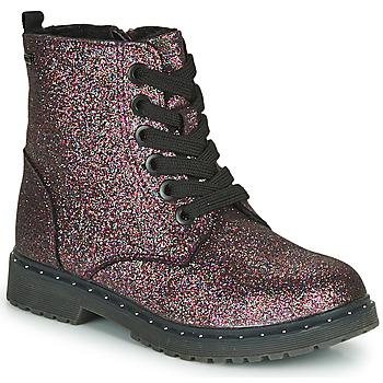 Cipők Lány Csizmák Tom Tailor 71004-VIOLET-C Lila