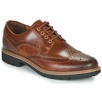 Cipők Férfi Oxford cipők Clarks BATCOMBE WING Teve