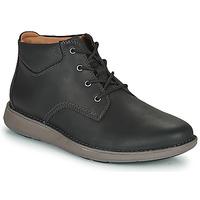 Cipők Férfi Oxford cipők Clarks UN LARVIK TOP2 Fekete