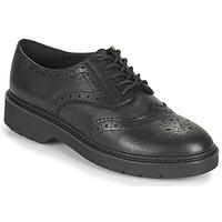Cipők Női Oxford cipők Clarks WITCOMBE ECHO Fekete