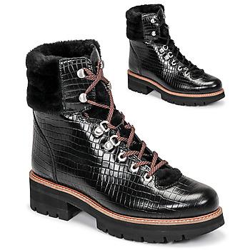 Cipők Női Csizmák Clarks ORIANNA HIKER Fekete