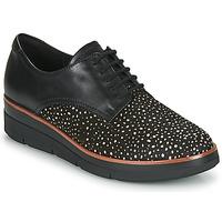 Cipők Női Oxford cipők Clarks SHAYLIN LACE Fekete