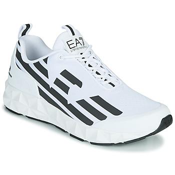 Cipők Férfi Rövid szárú edzőcipők Emporio Armani EA7 XCC52 Fehér / Fekete