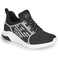Cipők Férfi Rövid szárú edzőcipők Emporio Armani EA7 XCC55 Fekete
