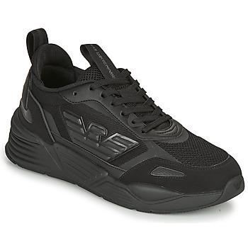 Cipők Férfi Rövid szárú edzőcipők Emporio Armani EA7 XK165 Fekete