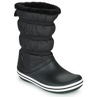 Cipők Női Hótaposók Crocs CROCBAND BOOT W Fekete