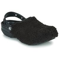 Cipők Klumpák Crocs CLASSIC FUZZ MANIA CLOG Fekete