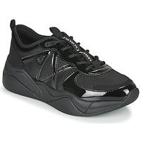 Cipők Női Rövid szárú edzőcipők Armani Exchange XV311-XDX039 Fekete