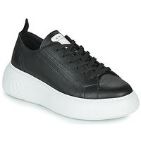 Cipők Női Rövid szárú edzőcipők Armani Exchange XCC64-XDX043 Fekete