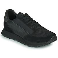 Cipők Férfi Rövid szárú edzőcipők Armani Exchange XV263-XUX083 Fekete