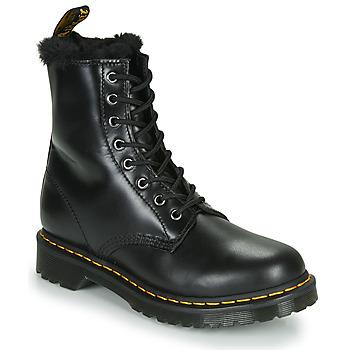 Cipők Női Csizmák Dr Martens 1460 SERENA Fekete