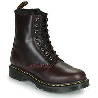 Cipők Női Csizmák Dr Martens 1460 SERENA Bordó