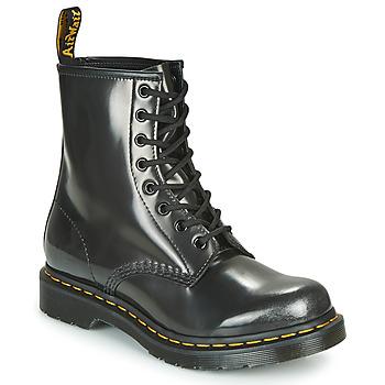 Cipők Női Csizmák Dr Martens 1460 W Ezüst