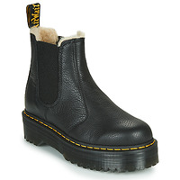 Cipők Női Csizmák Dr Martens 2976 QUAD FL Fekete
