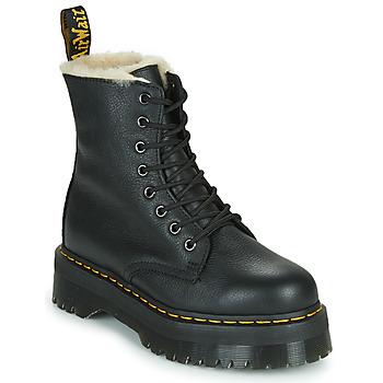 Cipők Női Csizmák Dr Martens JADON FL Fekete