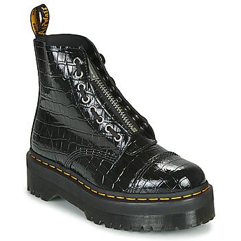Cipők Női Csizmák Dr Martens SINCLAIR Fekete  / Krokodil