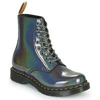 Cipők Női Csizmák Dr Martens VEGAN 1460 PASCAL Ezüst