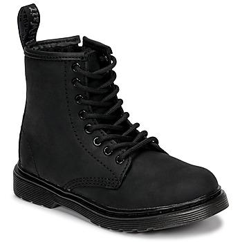Cipők Gyerek Csizmák Dr Martens 1460 SERENA MONO J Fekete