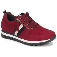Cipők Női Rövid szárú edzőcipők Gabor 5643538 Piros