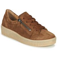 Cipők Női Rövid szárú edzőcipők Gabor 5333412 Teve