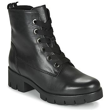 Cipők Női Bokacsizmák Gabor 5171137 Fekete