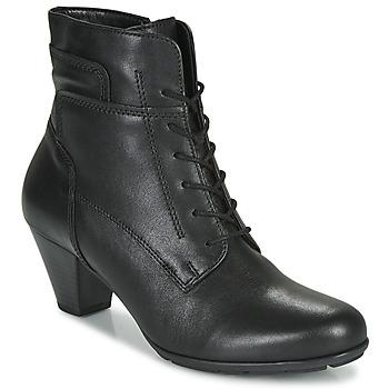 Cipők Női Bokacsizmák Gabor 5564427 Fekete