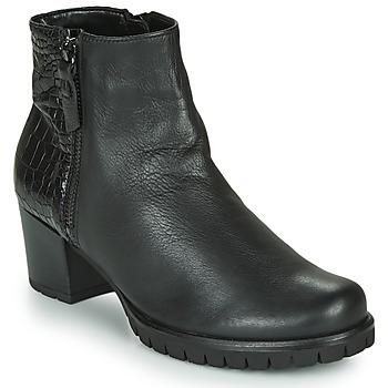 Cipők Női Bokacsizmák Gabor 5665367 Fekete