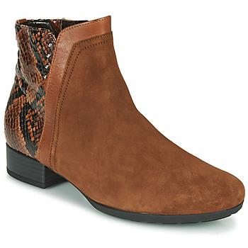Cipők Női Bokacsizmák Gabor 5271235 Teve