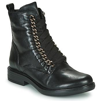 Cipők Női Csizmák Mjus CAFE CHAIN Fekete