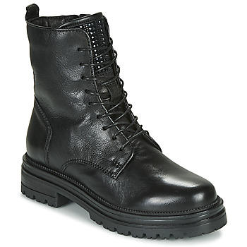 Cipők Női Csizmák Mjus DOBLE LACE Fekete