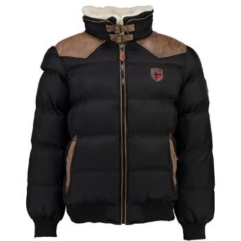 Ruhák Fiú Steppelt kabátok Geographical Norway ABRAMOVITCH BOY Fekete
