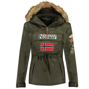 Ruhák Fiú Parka kabátok Geographical Norway BARMAN BOY Keki