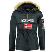 Ruhák Fiú Parka kabátok Geographical Norway BARMAN BOY Tengerész
