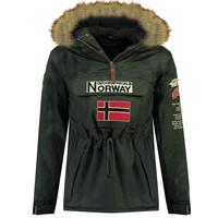 Ruhák Fiú Parka kabátok Geographical Norway BARMAN BOY Szürke