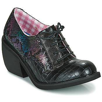 Cipők Női Oxford cipők Irregular Choice TIPPLE Fekete