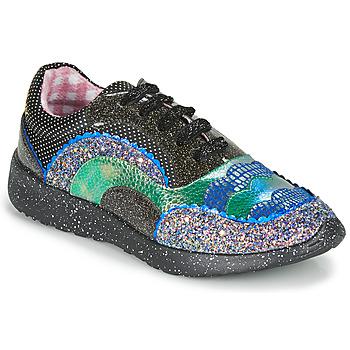 Cipők Női Rövid szárú edzőcipők Irregular Choice JIGSAW Fekete